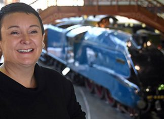 Judith McNicol, Director of the National Railway Museum. Picture by David Harrison.