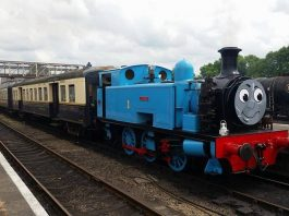 Thomas at the Nene Valley Railway
