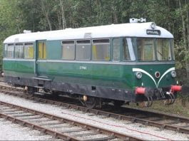 E79960 to visit the Ecclesbourne Valley Railway from the Ribble Steam Railway for their Railcar gala