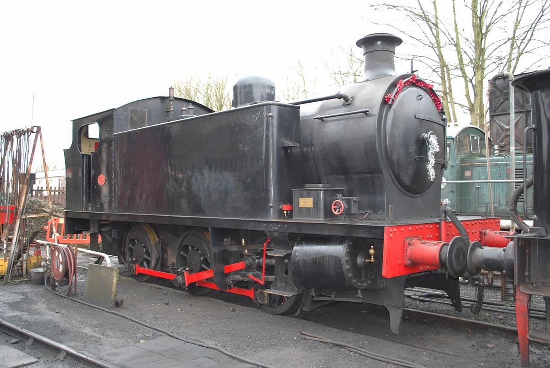 Steam ;locomotive 7151