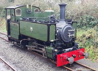 steam locomotive Tom Rolt after a repaint