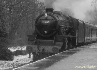 "45157 ""The Glasgow Highlander"" // Credit RailAdvent"