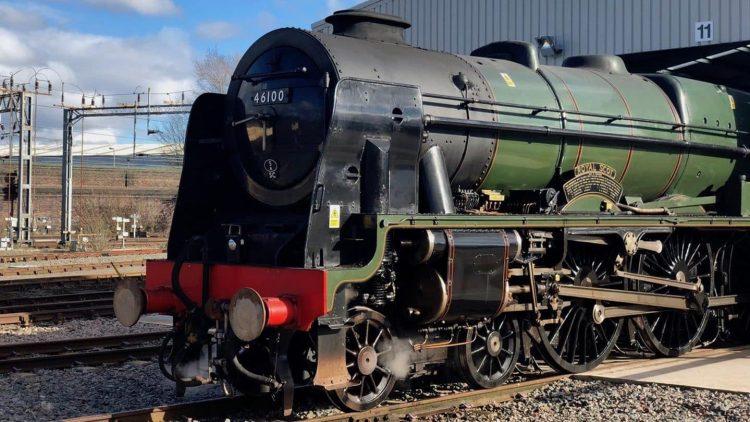 "46100 ""Royal Scot"" on Test steam Trains // Credit Alexander Penfold"