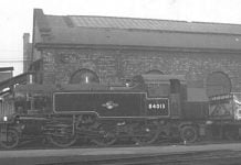Standard class 2 steam locomotive