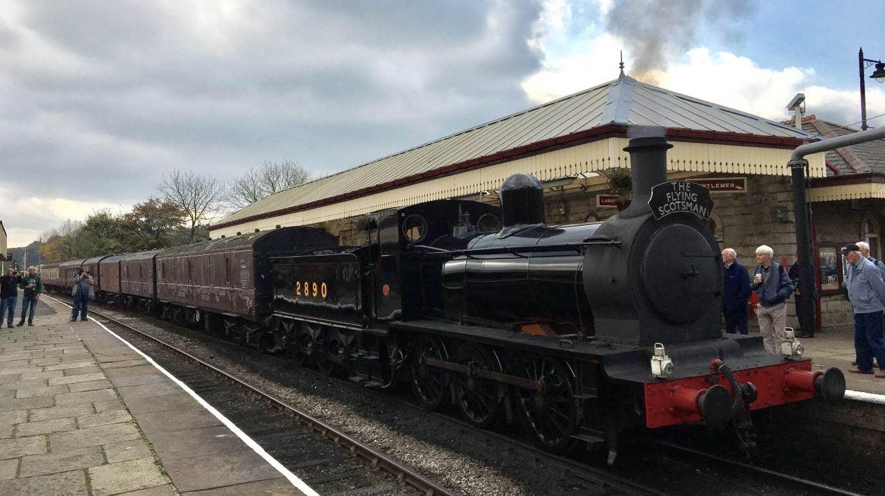 2890 Douglas at Ramsbottom on the East Lancashire Railway