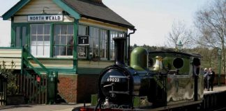North Wealds on the Epping Ongar Railway