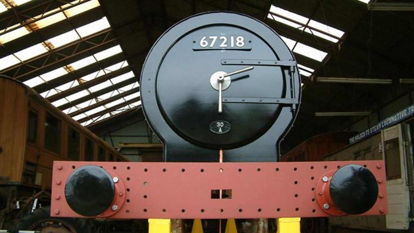 Buffer Beam and Smokebox Front // Credit The Holden F5 Steam Locomotive Trust