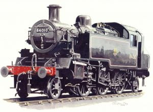 Class 2 steam locomotive