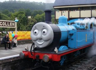 Thomas set for Llangollen Railway visit