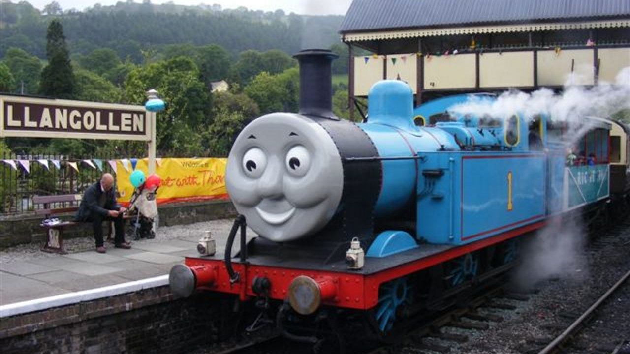 Thomas set for Llangollen Railway visit