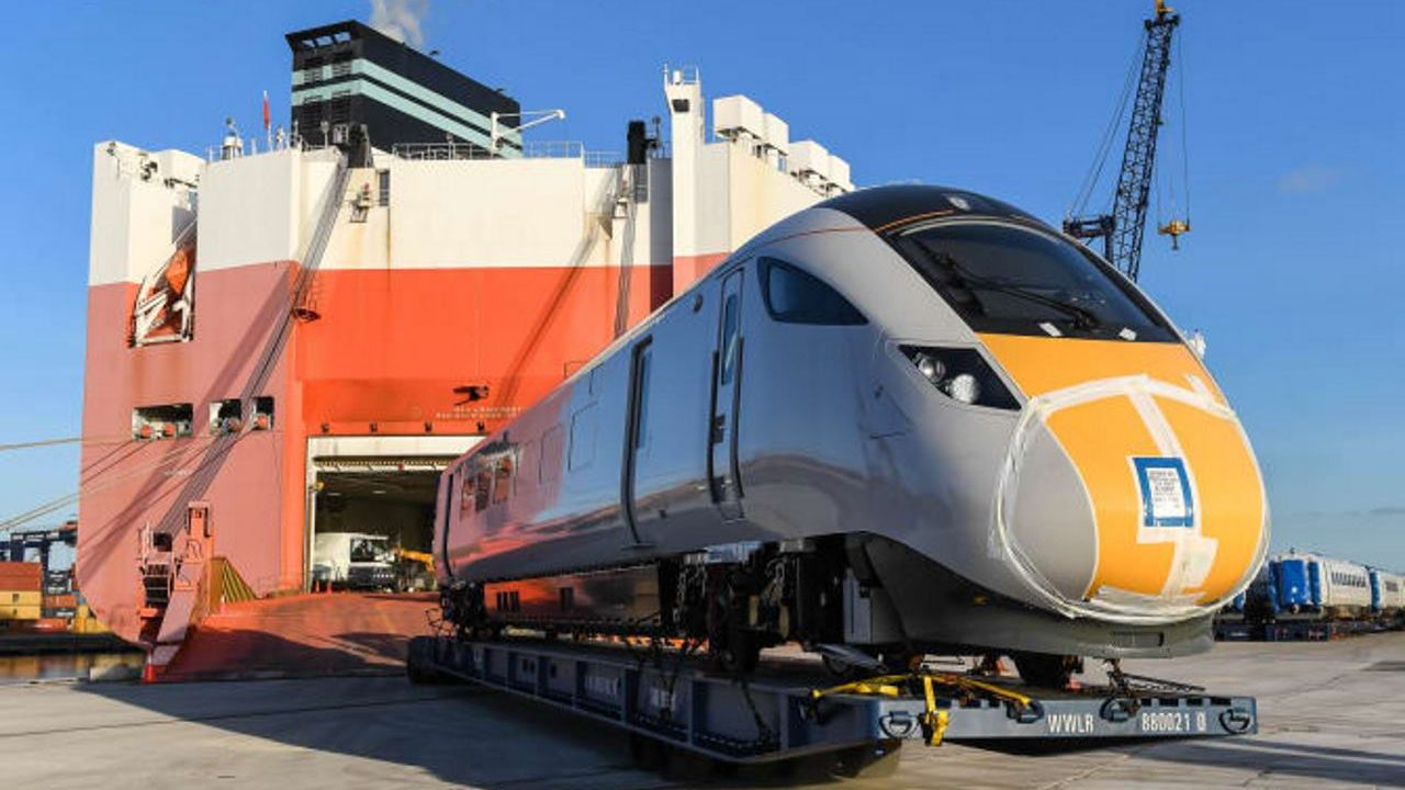Virgin Trains welcome new azuma trains to the UK