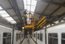 Clacton train depot gets new LED lighting