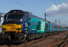 Class 68 diesel locomotives to take over the cumbrian coast line from monday