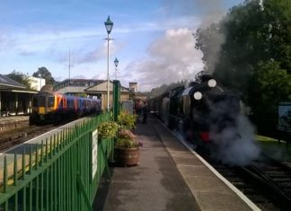 Alton station on the Watercress Line