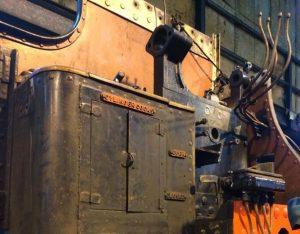 Dismantled Reverser // Credit Essex Locomotive Society