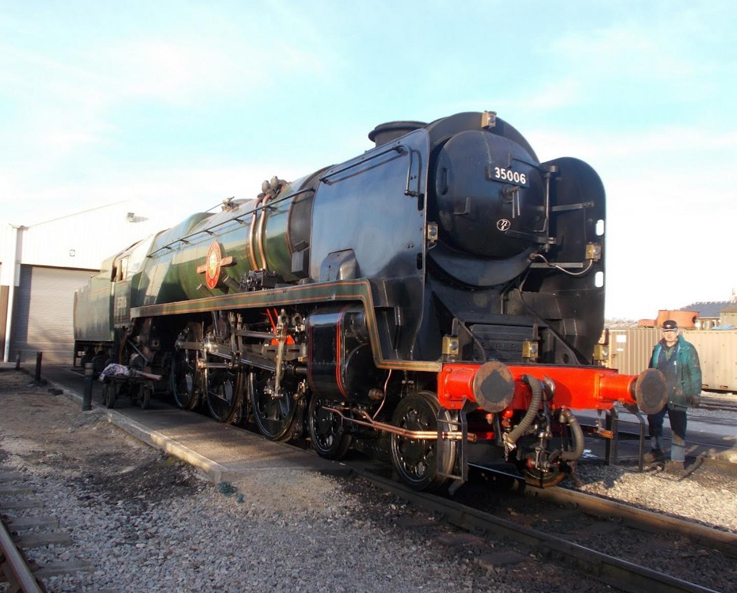 Ready for Annual Boiler Examination // Credit Maurice Hastie