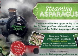 """The Asparagus Express"" Credit Gloucestershire Warwickshire Steam Railway"