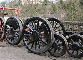 Wheels Lined Up In Order // Credit Tony Massau