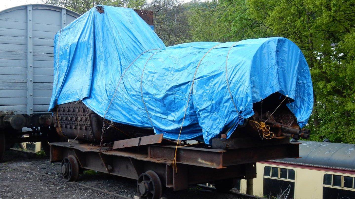 Update on the restoration on steam locomotive No.5532
