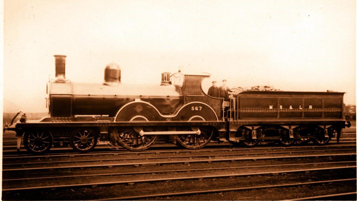 No.567 at Gorton Works, January 1891 // Credit Andrew Horrocks-Taylor