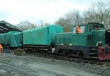 OP4 april update from Bluebell Railway