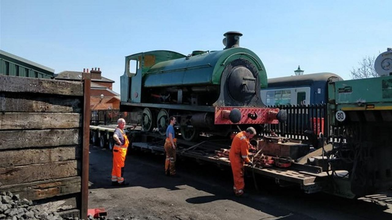 Epping Ongar Railway welcomes steam locomotive No. 3837