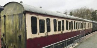 New coach for the Helston Railway