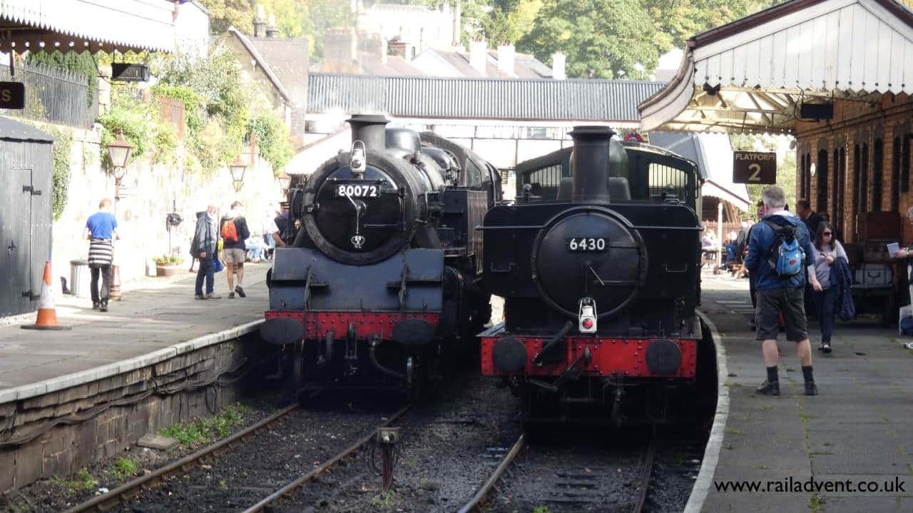 6430 and 80072 at Llangollen