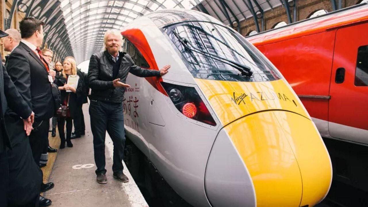 Virgin Trains azuma on test at Sunderland and Lincoln