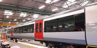 Greater Anglias new train takes shape