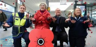 Poppyscotland and Scotrail raise record amount for poppyscotland