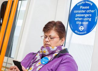Transport for London launch Priority Seating Week