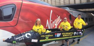Virgin Trains with Wolverhampton Bobsled Team