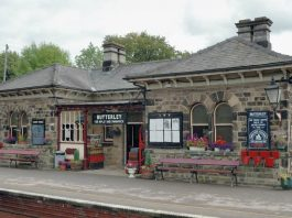 Butterley Station at Midland Railway Butterley