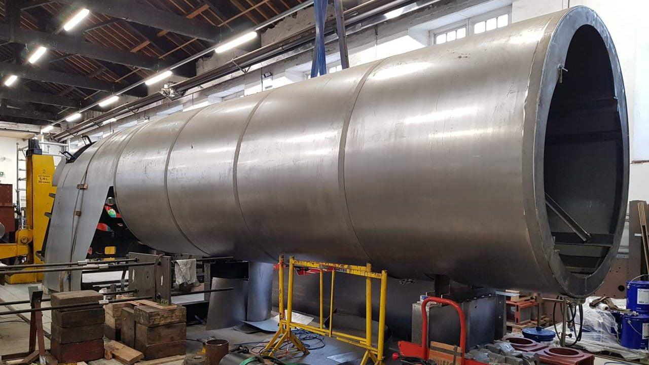 P2 Steam Locomotive Company 's Boiler Club reaches half way point