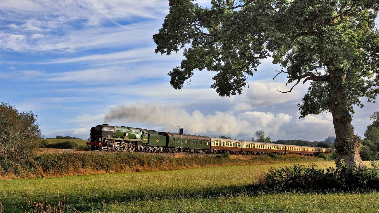 34046 Braunton to haul the Welsh Marches Express