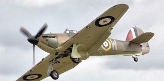 Hurricane to visit the Mid Suffolk Railway Middy in the War 2018
