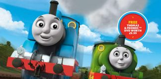 Thomas and Friends DVD on offer with Hornby