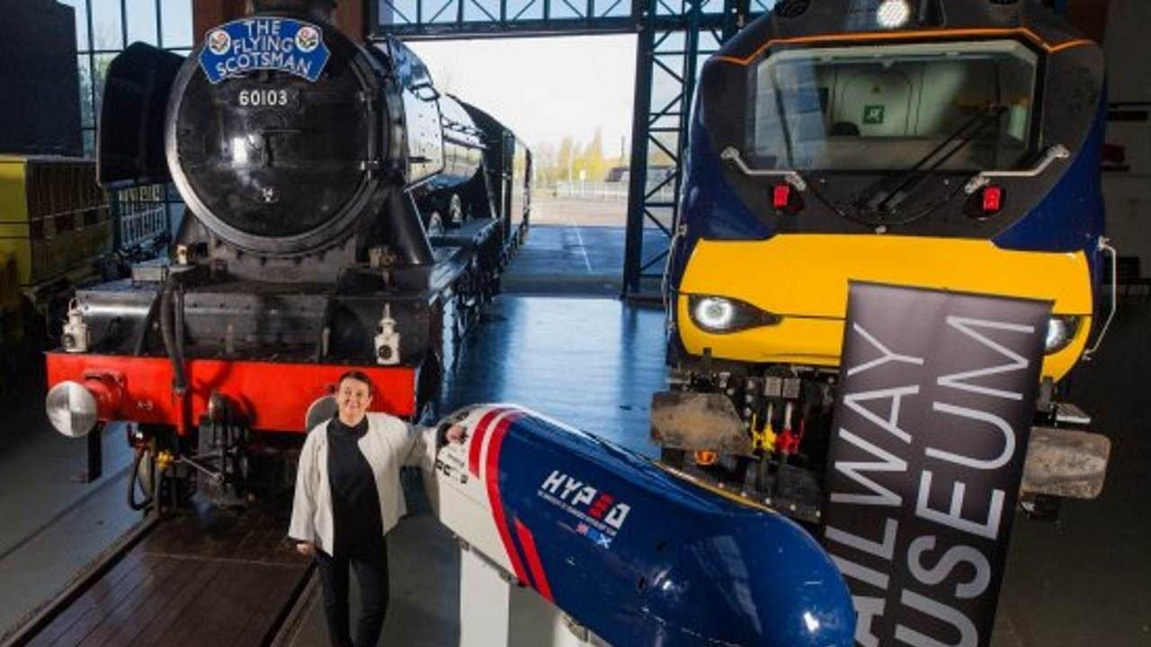 Flying Scotsman, Class 88 and Hyperloop