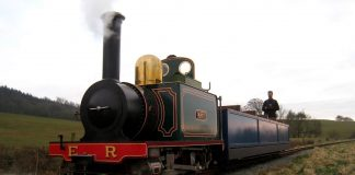 Ravenglass and Eskdale Railway prepare to welcome back steam locomotive Katie