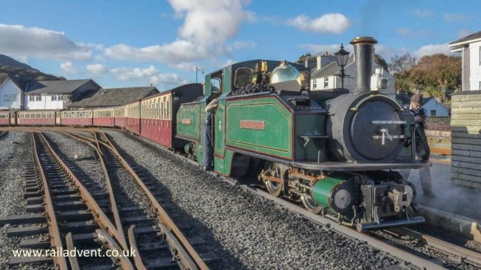 Earl of Merioneth at Porthmadog