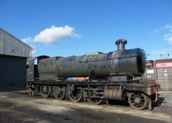 No.2874 in Ex-Barry Scrapyard Condition // Credit The 2874 Trust