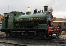 813 to visit the Elsecar Heritage Railway