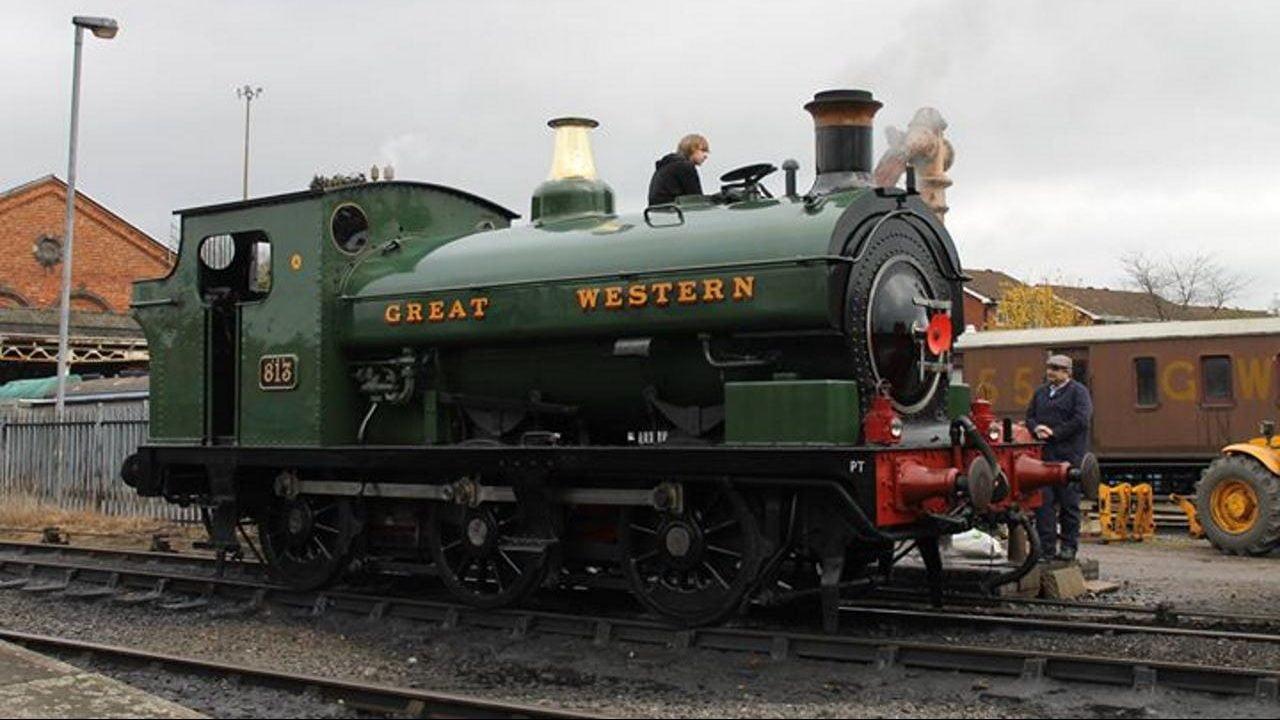 813 to visit the Elsecar Heritage Railway