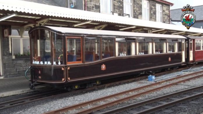 Ffestiniog Railway launch brand new pullman carriage 152