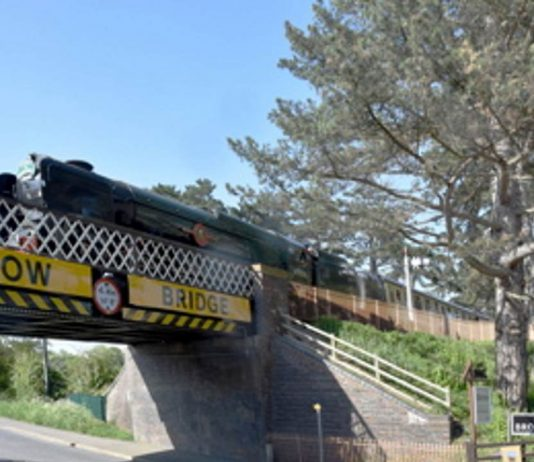 Gloucestershire Warwickshire Steam Railway bridge hit for 14th time in 3 years