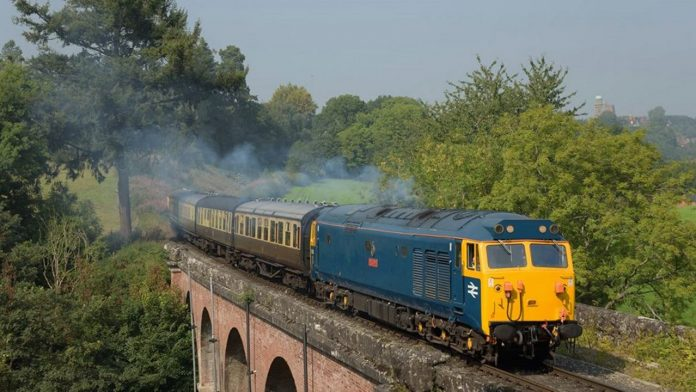 50035 Ark Royal to visit the Keighley and Worth Valley Railway for their 50th anniversary gala