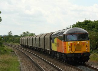 Class 56 joins Severn Valley Railway Spring Diesel Festival