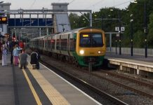 First ever electric train travels from Birmingham to Bromsgrove
