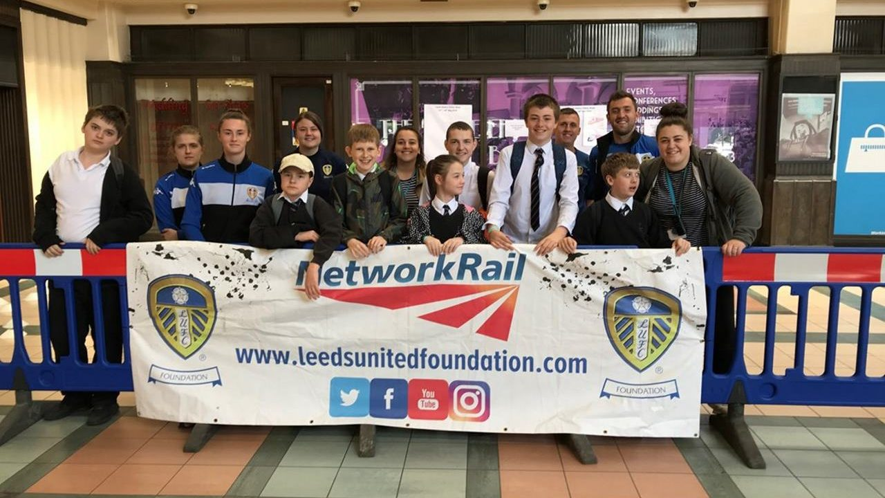 Network Rail launch Leeds Station Safety Week 2018